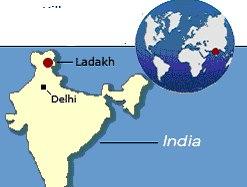 ladakh_karte / Zum Vergrößern auf das Bild klicken